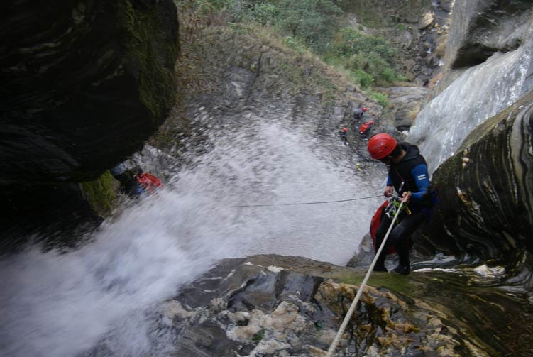 Bhotekoshi Valley Canyoning Cost & Itinerary Spring/Autumn 2018/2019