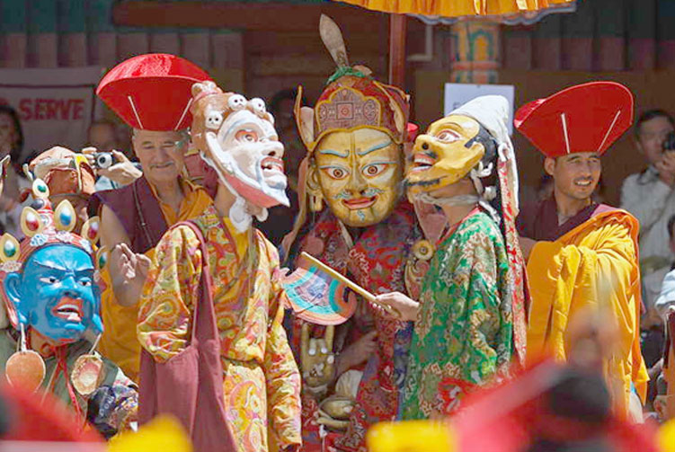 Hemis Festival Tours fixed departure spring/autumn 2018/2019 cost & itinerary