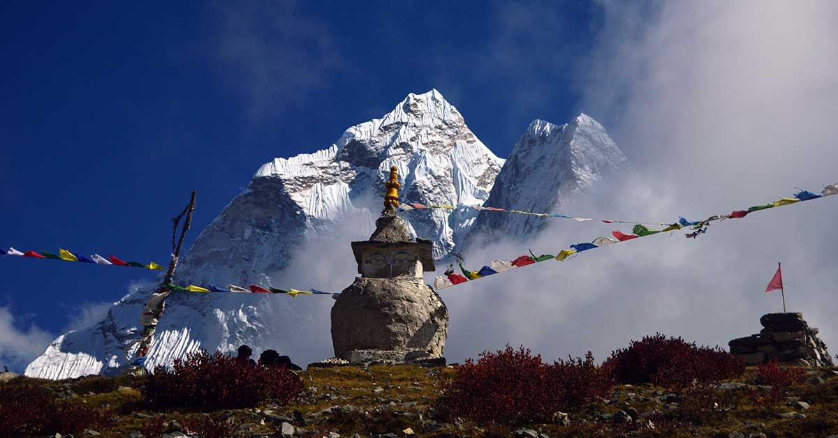 Mount Amadablam - Everest Trail