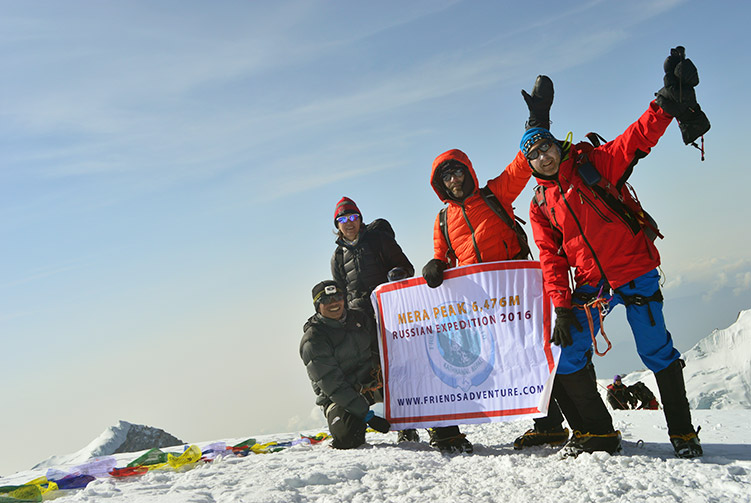 Mera Peak Climbing Expedition fixed departure spring/autumn 2016/2017 cost & itinerary