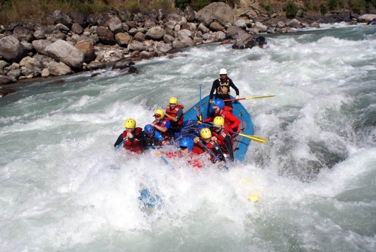 Arun River Rafting fixed departure spring/autumn 2018/2019 cost & itinerary