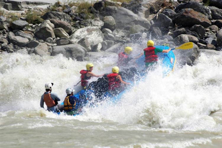 Sunkoshi River Rafting fixed departure spring/autumn 2017/2018 cost & itinerary