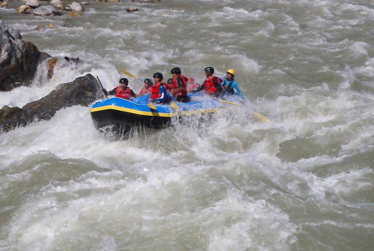 Trishuli River Rafting fixed departure spring/autumn 2018/2019 cost & itinerary