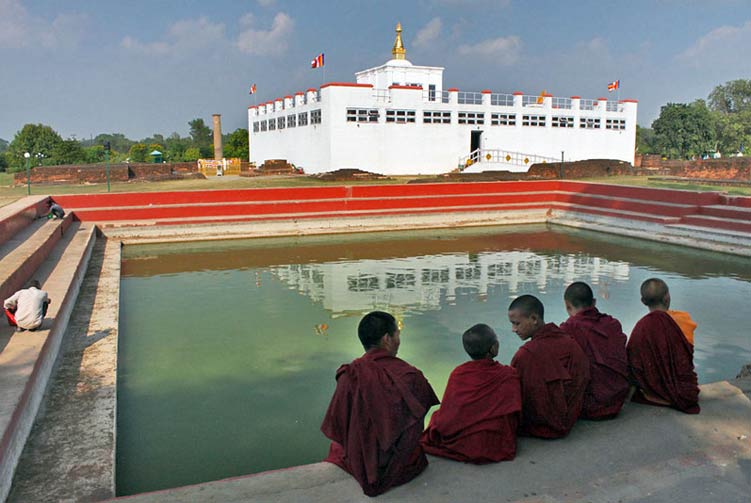 Lumbini Private Day Tours fixed departure spring/autumn 2017/2018 cost & itinerary